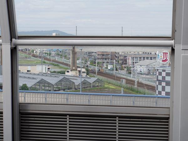 阪急京都線をオーバークロス