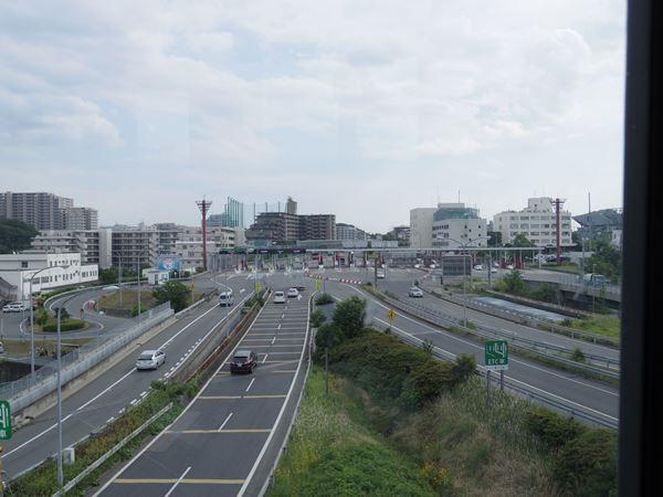 名神道をオーバークロス