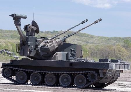 87式自走高射砲