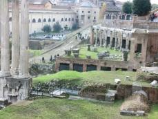 フォロロマーノ遺跡