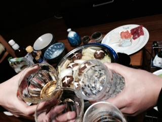 大晦日の乾杯