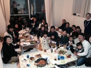 狛江の新年会1