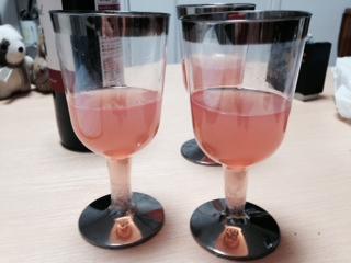 こうもりワイングラス