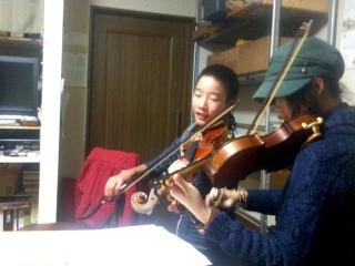 新バイオリン師弟