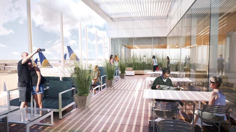 ユナイテッド航空はLAX(ロサンゼルス国際空港)のターミナルを改装1