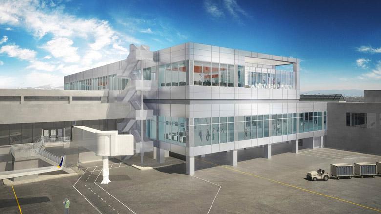 ユナイテッド航空はLAX(ロサンゼルス国際空港)のターミナルを改装