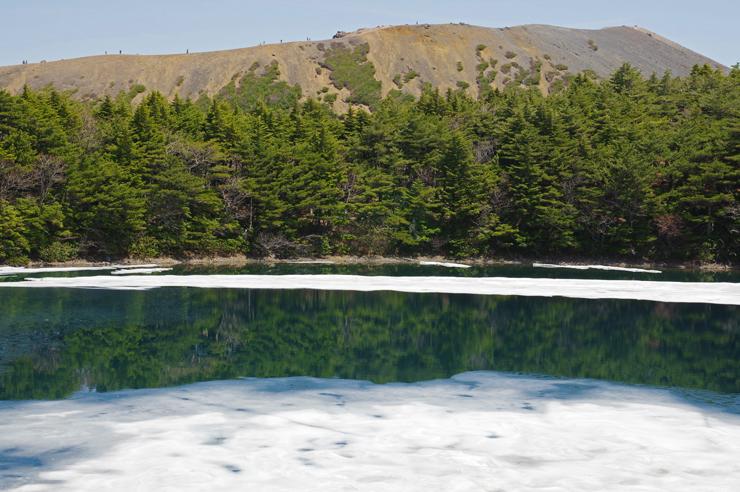 小富士と桶沼
