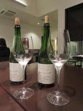 七・八杯目は二種の白ワイン