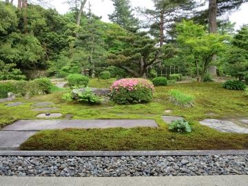 時雨亭 庭園