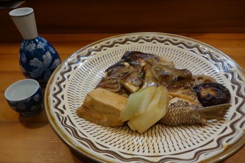 タイの粗煮