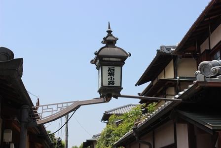 石塀小路 街燈