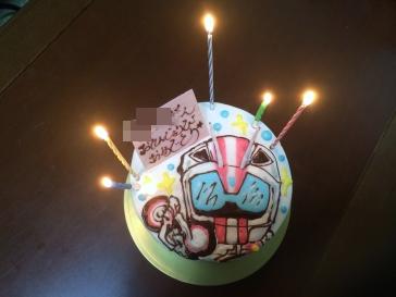 誕生日ケーキ2015