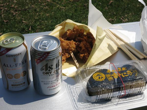 洞爺湖 昼食
