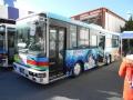 161231三津シーパラダイス前に伊豆箱根Verのバス