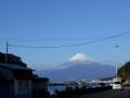 161231海と富士山を横目に、ひたすら歩く