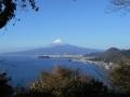 161231山頂からの富士山