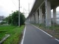 150620湖西線に沿って裏道を坂本方面へ