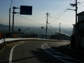 150124信貴山から奈良方面に下る
