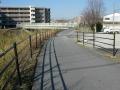 150124秋篠川沿いの奈良自転車道へ.1