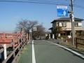 150124秋篠川沿いの奈良自転車道へ.2