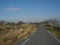 150124平城山から木津川自転車道に向かう