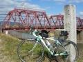 150124木津川の京阪鉄橋