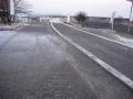 150201木津川CR流れ橋付近の雪