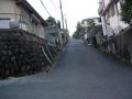 150201橋本の住宅地を上る.1