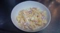 150315朝食にスクランブルエッグを作る
