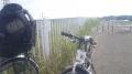 150531北河内サイクルラインの牧野堤防車止め