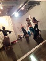 高田馬場スタジオベリーダンス初級クラス