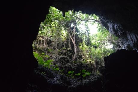 7洞窟の出口