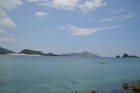 2島が近い