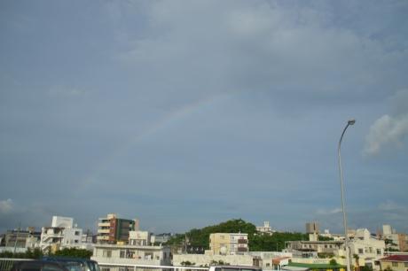 1虹が見える