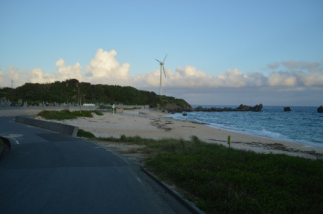 15夕方の海岸
