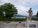 箱根町にある駅伝の碑