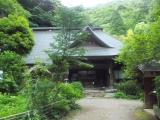 登山口のある阿弥陀寺