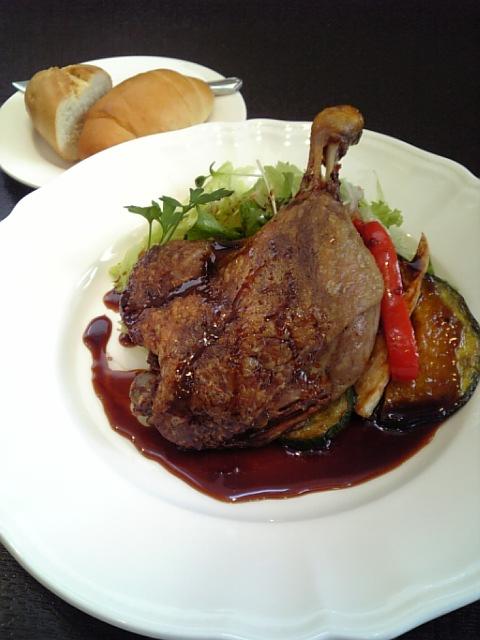 フランス産鴨肉のコンフィ_02120425