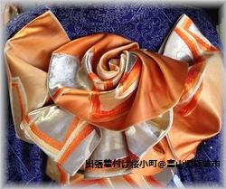 振袖帯帯結び硬い帯優華1