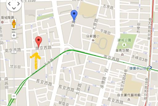 ロイヤルシーズンズ台北地図