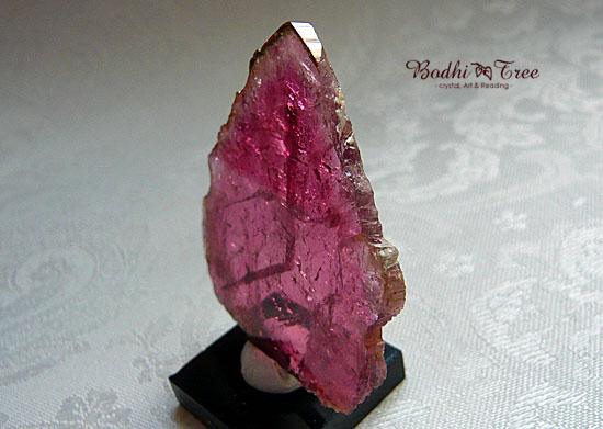 bピンク・トルマリン磨き原石