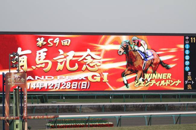 2014 有馬記念ターフヴィジョン