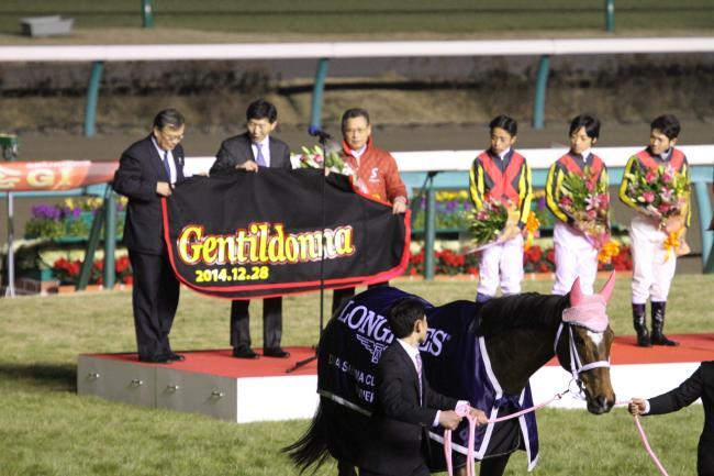 2014 ジェンティルドンナ有馬12