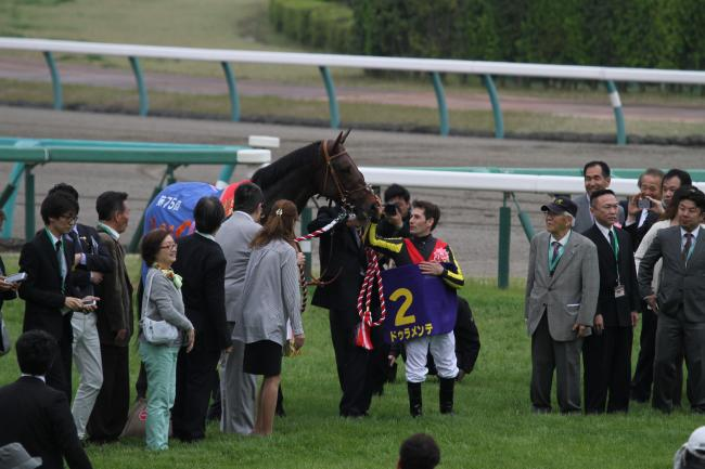 2015 皐月賞 ドゥラメンテ表彰式