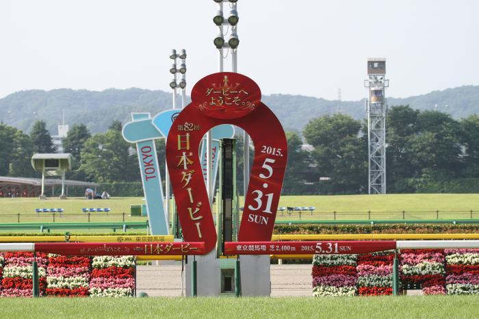 2015 日本ダービー ゴール板