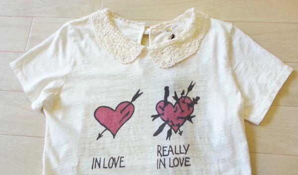 衿付Tシャツ②