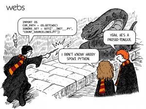 Pythonを操るハリーポッター
