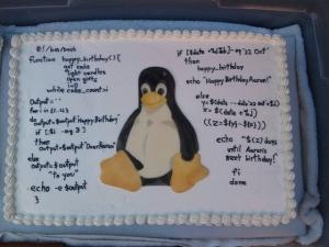 Linuxケーキ
