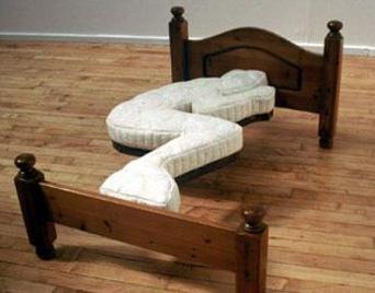 うずくまりベッド