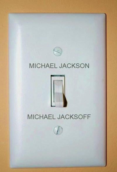 マイケルジャクソンのオンオフ